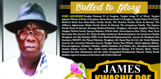 James Kwashie Doe