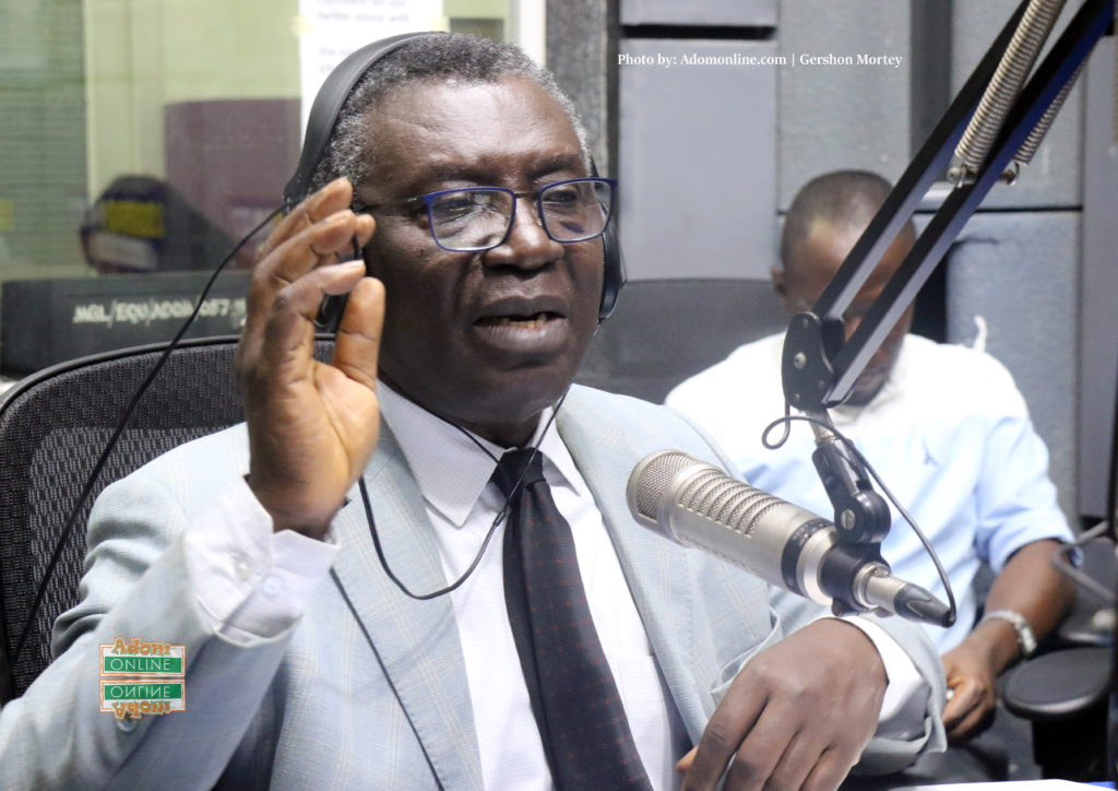 Minister of Environment, Science, Technology and Innovation (MESTI), Professor Kwabena Frimpong-Boateng