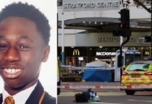 Baptista Adjei was pronounced dead shortly after the incident