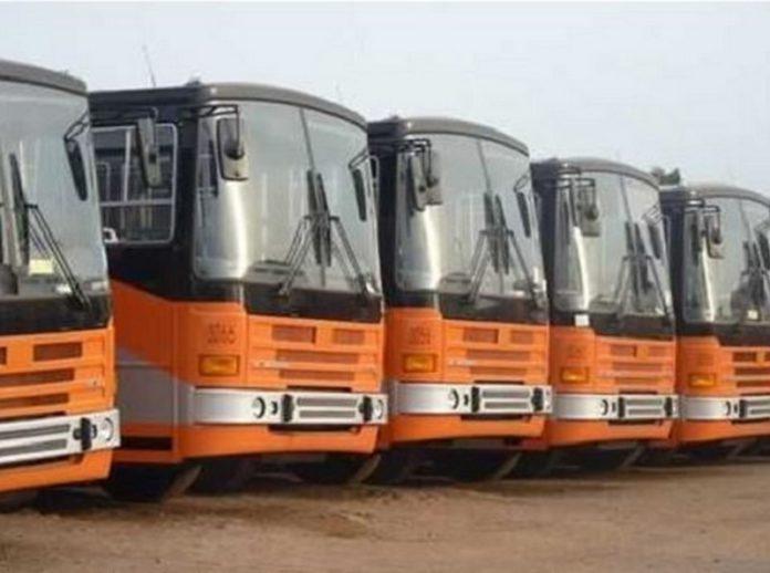 File photo of Metro Mass Transit Buses