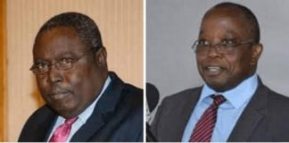 Martin Amidu, Special Prosecutor and Daniel Domelevo, Auditor General