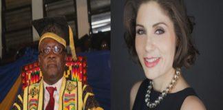 Prof Ebenezer Oduro-Owusu, VC, University of Ghana & Andrea Pizziconi, CEO, Africa Integras
