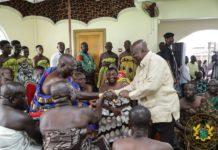 The Asantehene, Otumfuo Osei Tutu II, has urged the President of the Republic, Nana Addo Dankwa Akufo-Addo,