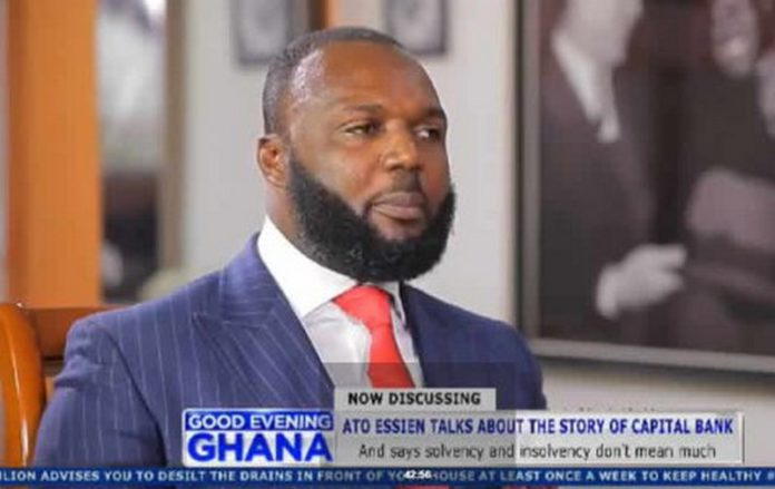 Founder of defunct Capital Bank, William Ato Essien
