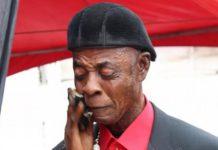 Veteran actor, Ajos born Kingsley Kofi Kyeremateng