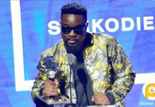 Sarkodie wins Best International Flow Artiste