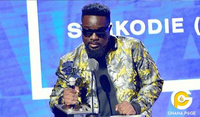 Sarkodie wins Best International Flow Artiste
