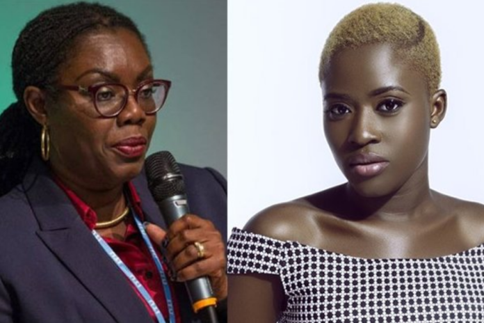 Actress Fella Makafui has taken a swipe at the Communications Minister over her comments that people who are complaining about hardships in the country are witches.