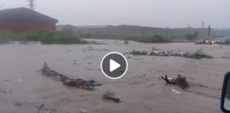 Tema Motorway flood