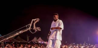 Sarkodie performs at This is Tema concert