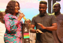 Rapper Sarkodie honoured and announced as ambassador for the Year of Return by government.