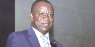 Deputy Minister of Agriculture in charge of Horticulture, George Boahen Oduro