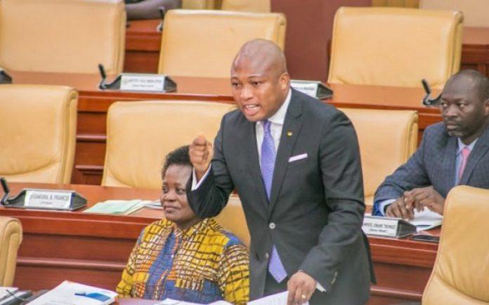 MP for North Tongu Constituency, Samuel Okudzeto Ablakwa