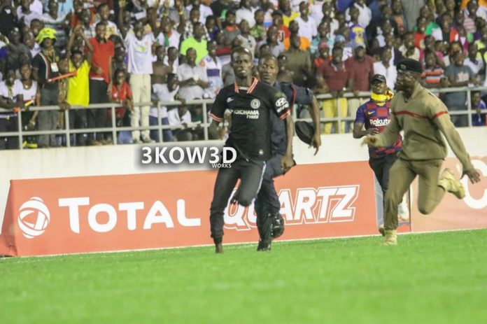 AWAL SULEMANA pitch invader