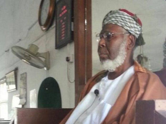 Acting Deputy Chief Imam, Ishaka Abubakar,