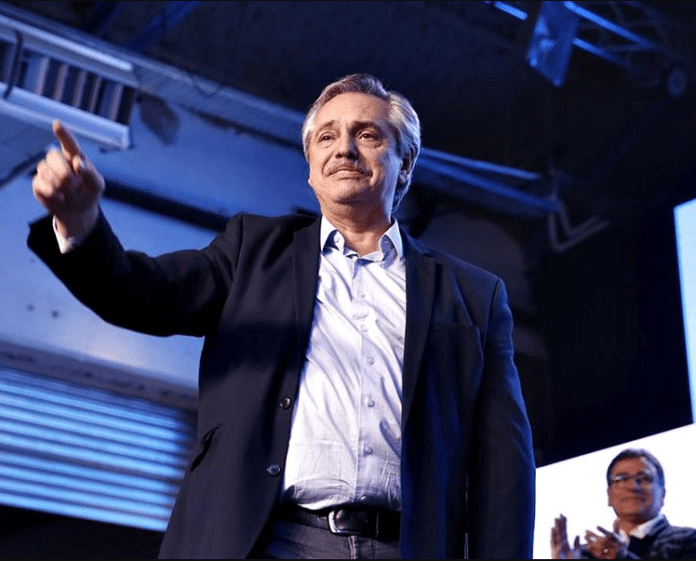 President-elect Alberto Fernandez