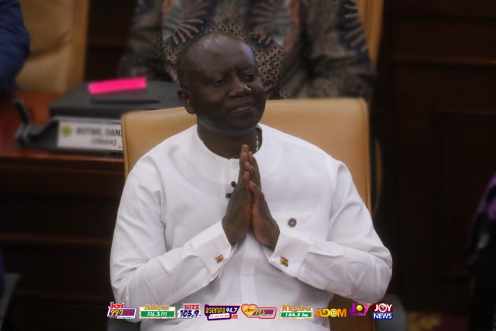 Finance Minister Ken Ofori-Atta presents 2019 Budget