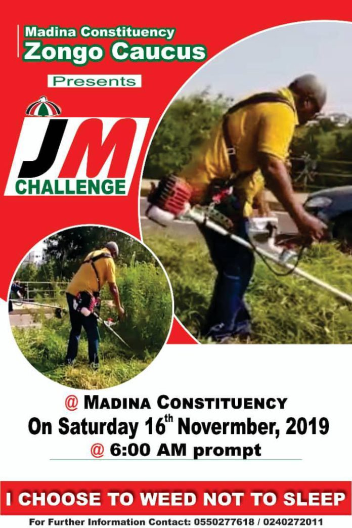 JM Weeding Challenge