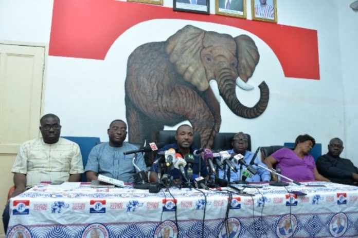 Addressing a press conference in Accra on Monday, the General-Secretary of the party, John Boadu, also allayed fears that the referendum will be to the advantage of the ruling NPP