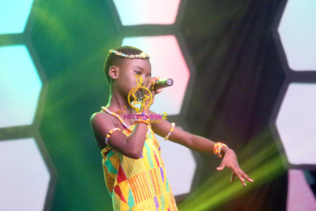 Anita Afua Fynn performs 'African Woman' by Becca at Nsoromma19
