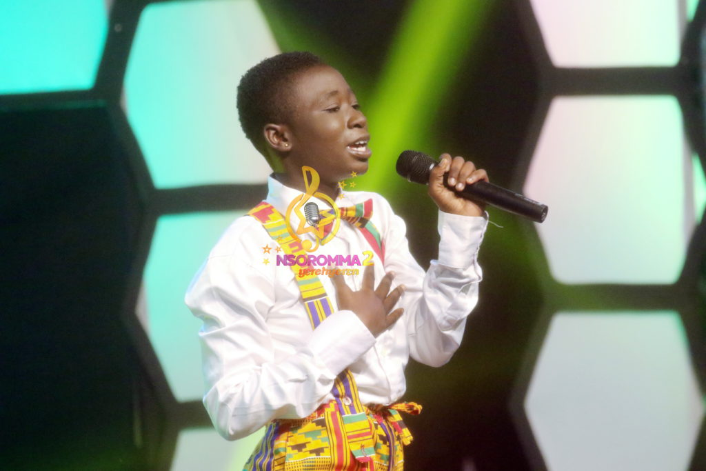 Abigail Agyemang performs 'Osobrokyee' by Paa Bobo. at Nsoromma 2019