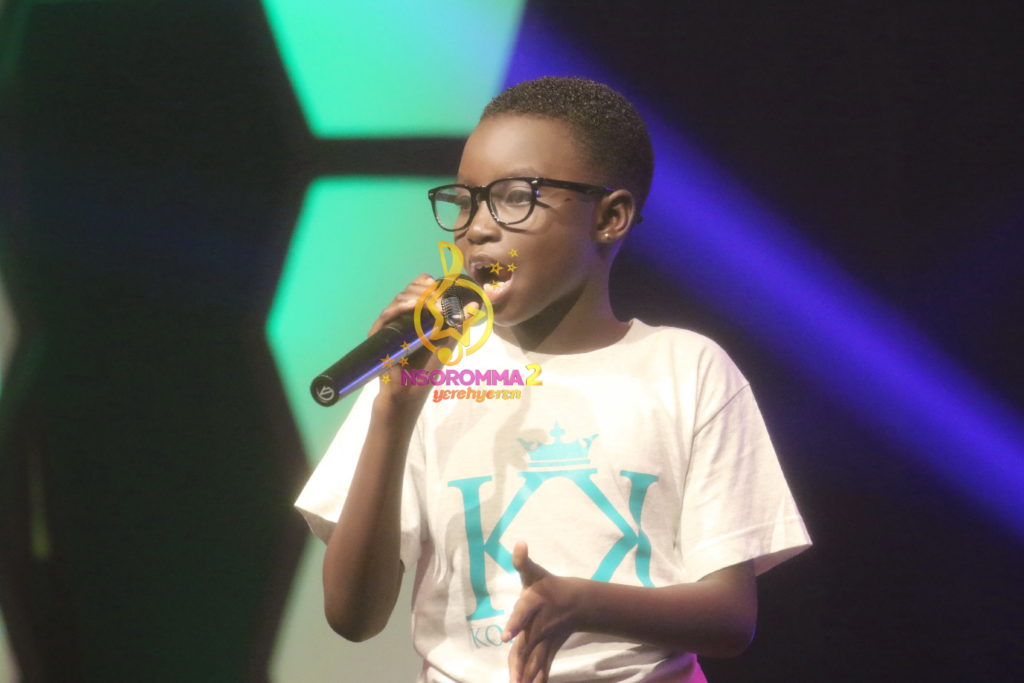 Queensworth Ansah performs 'Things fall apart' by @kinaatagh