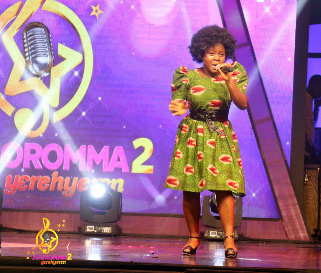 Millicent Asomaning performs 'Mpena Twe' by Smart Nkansah
