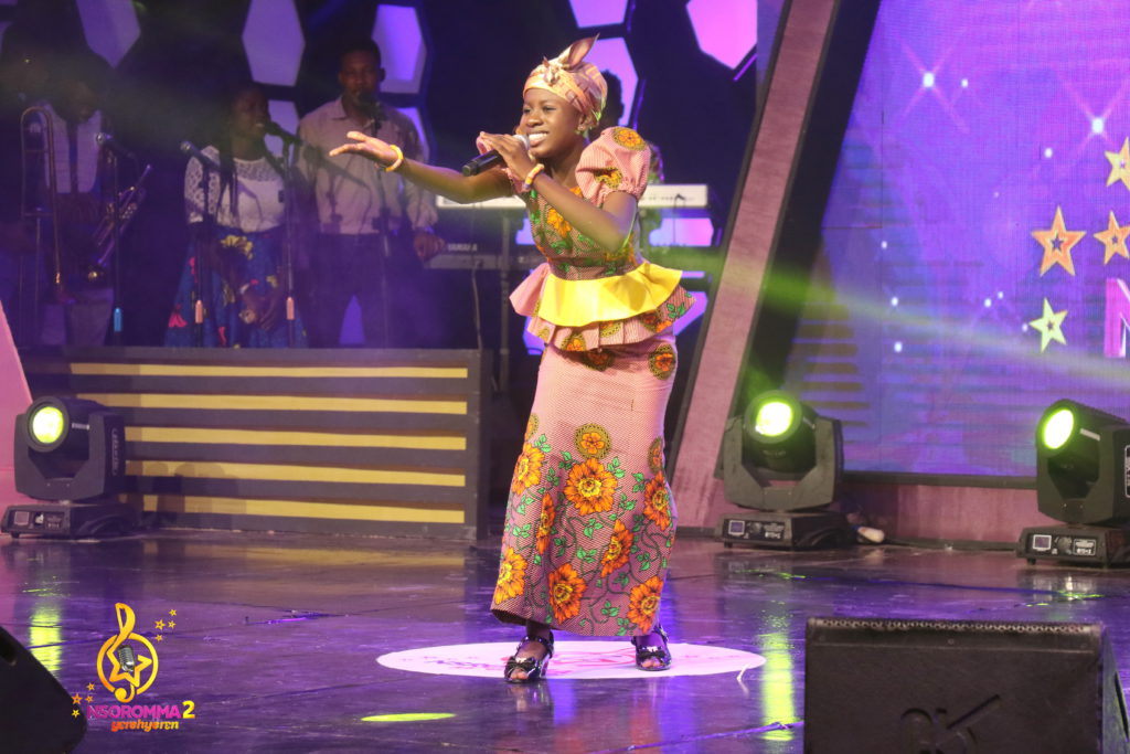Josephine Frimpong performs 'Odo Tie ' by Awurama Bedu