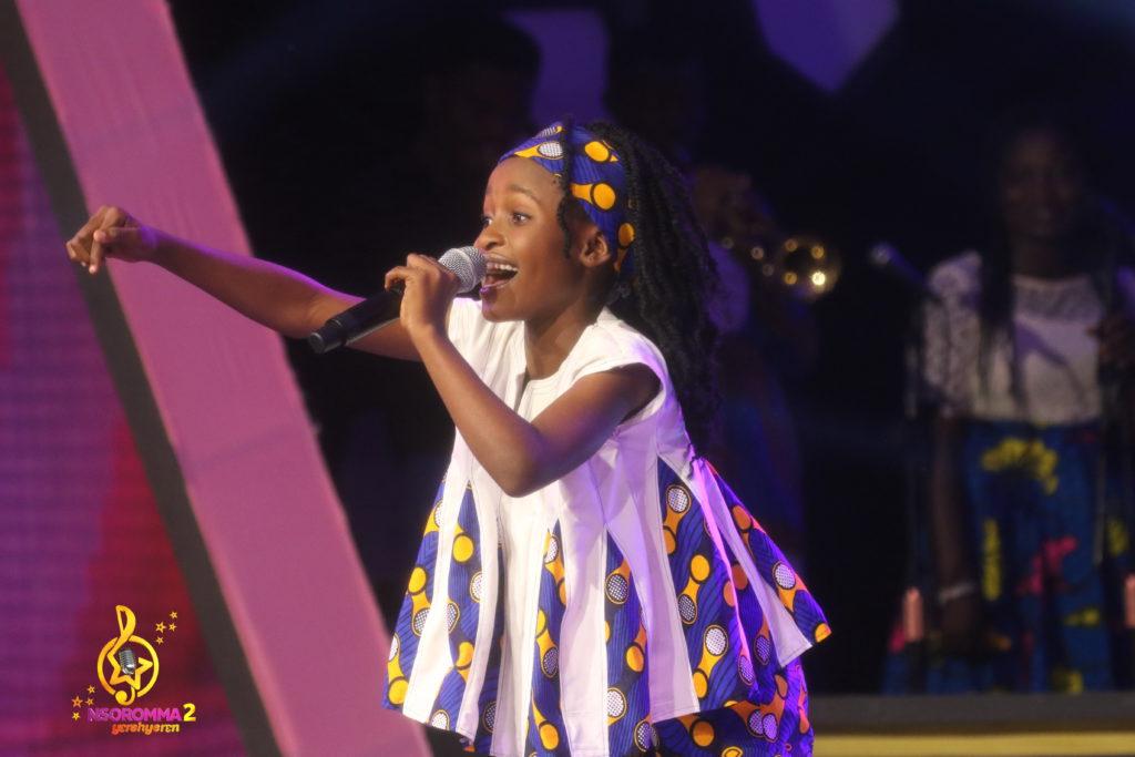 Reneil Aboakye performs 'Donko oye dede' by Nana Ampadu.