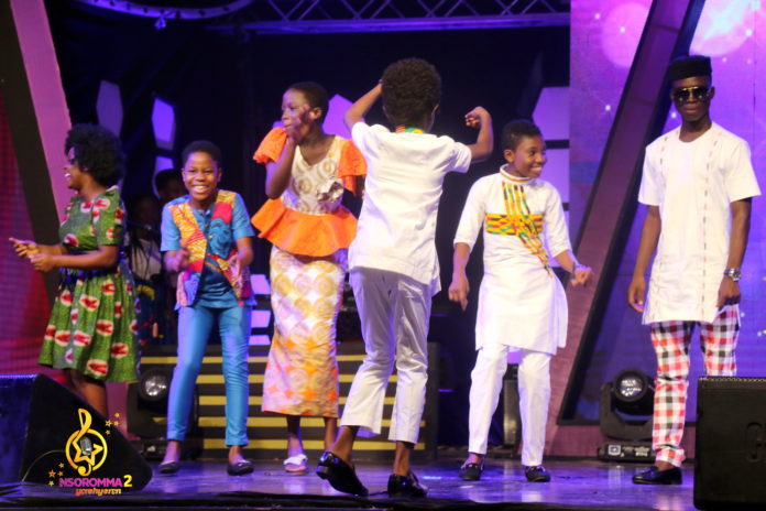 Nsoromma kids dazzle fans with awesome highlife performances in eviction-free week