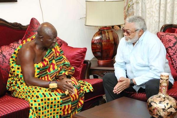 Otumfuor visits Rawlings