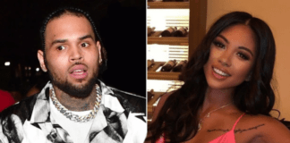 Chris Brown and Ammika HarrisGetty Images ; Instagram