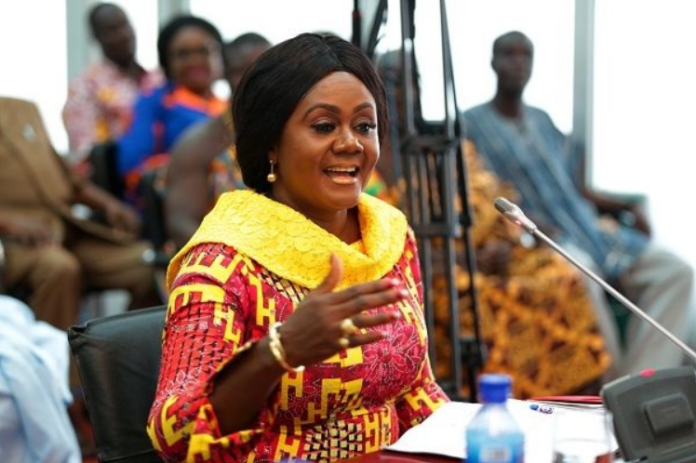 Minister for Tourism, Arts and Culture, Barbara Oteng Gyasi