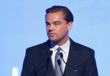 Oscar award-winning actor, Leonardo DiCaprio