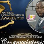 Hitz FM's Andy Dosty