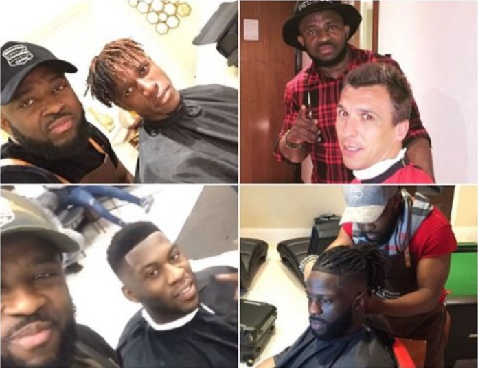 Nikky Okyere, a Ghanaian barber in the UK has become the go-to barber for English Premier League footballers