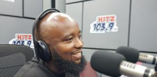 Trigmatic at Hitz FM studio