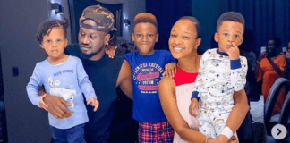 Photos from Paul Okoye's wife's 31st private birthday party