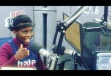DJ Switch at Hitz FM studio