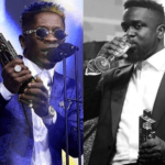 Shatta Wale (L) and Sarkodie