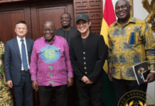 Social media reactions to Jet Li's visit to Ghana