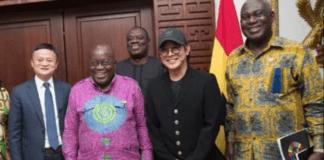 Social media reactions to Jet Li's visit to Ghana