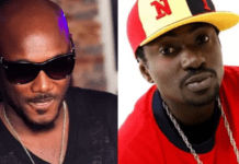 File Photo: 2Face (L) and BlackFace