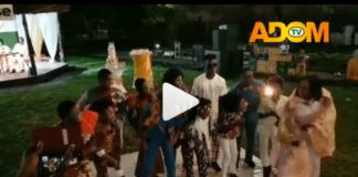 Akosua Agyapong celebrates 50th birthday with Nsoromma stars, Nana Ampadu