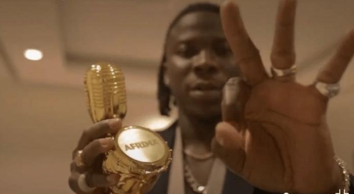 AFRIMA 2019: Stonebwoy wins Reggae Dancehall artiste for 3rd time