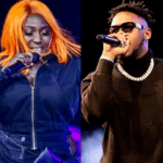 FIle Photo: Eno Barony and Medikal (R)