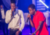 Stonebwoy and Kelvyn Boy (R)