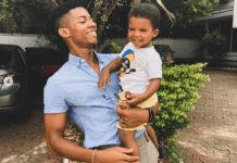 Kidi and his 3-year-old son