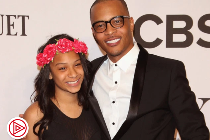 Deyjah Harris and her father T.I.