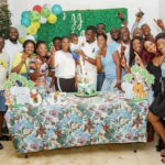Photos: Nadia Buari, others attend John Dumelo's son's first birthday